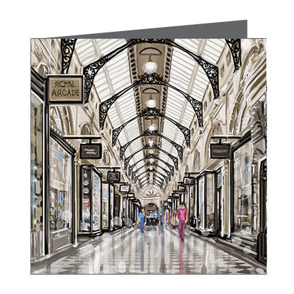 Card - Iconic Melbourne Royal Arcade