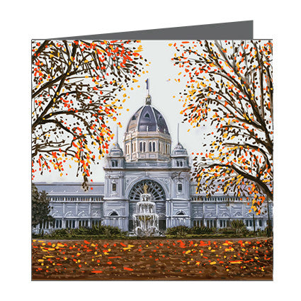 Card - Iconic Melbourne Exhibition Building