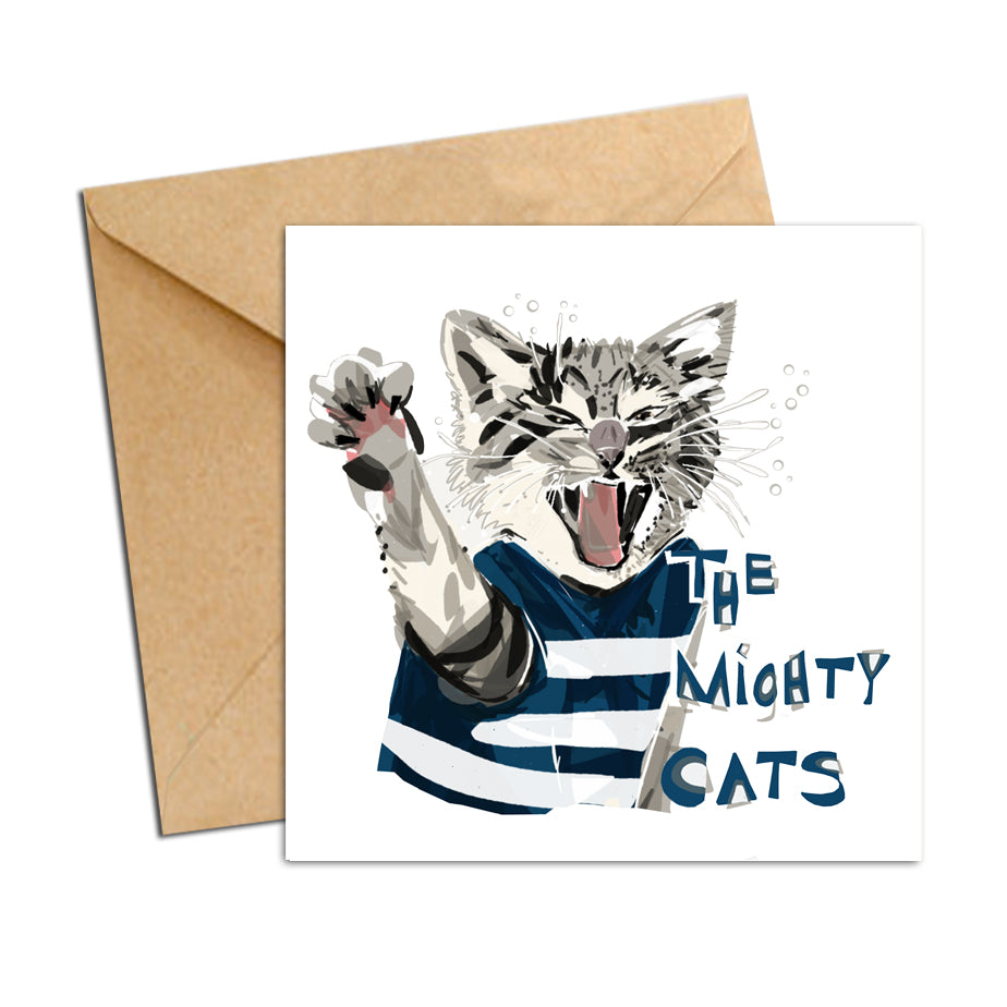Card - AFL Cats (The Mighty Cats)