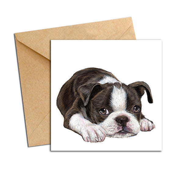 Card - Dog - French Bulldog Pup