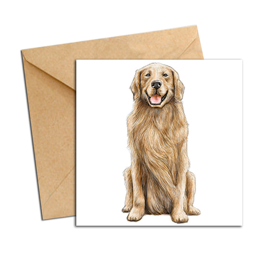 Card - Dog - Golden Retriever