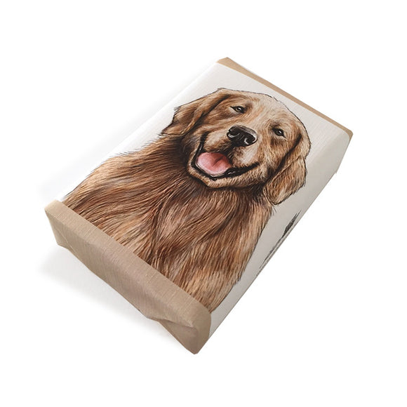 Soap Dog Golden Retriever