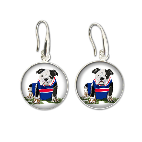 Earrings Drop (ALF) - Bulldog