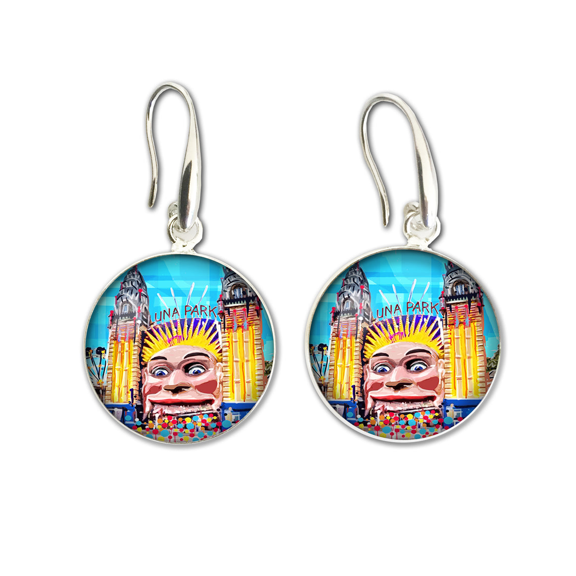 Earrings Drop (Iconic) - Melbourne Luna Park