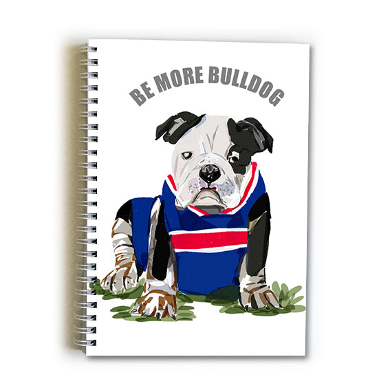Note Book A5 - Football Western Bulldog