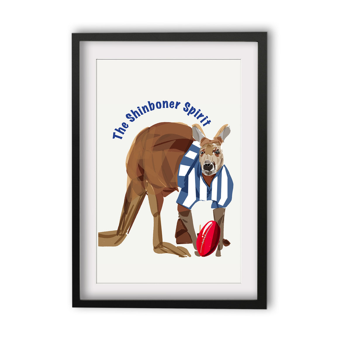 Print Football AFL - Kangaroos