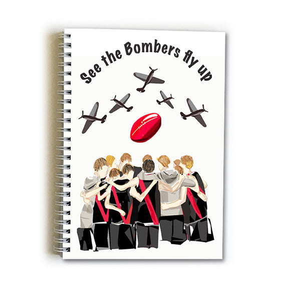 Note Book A5 - Football Essendon Bombers