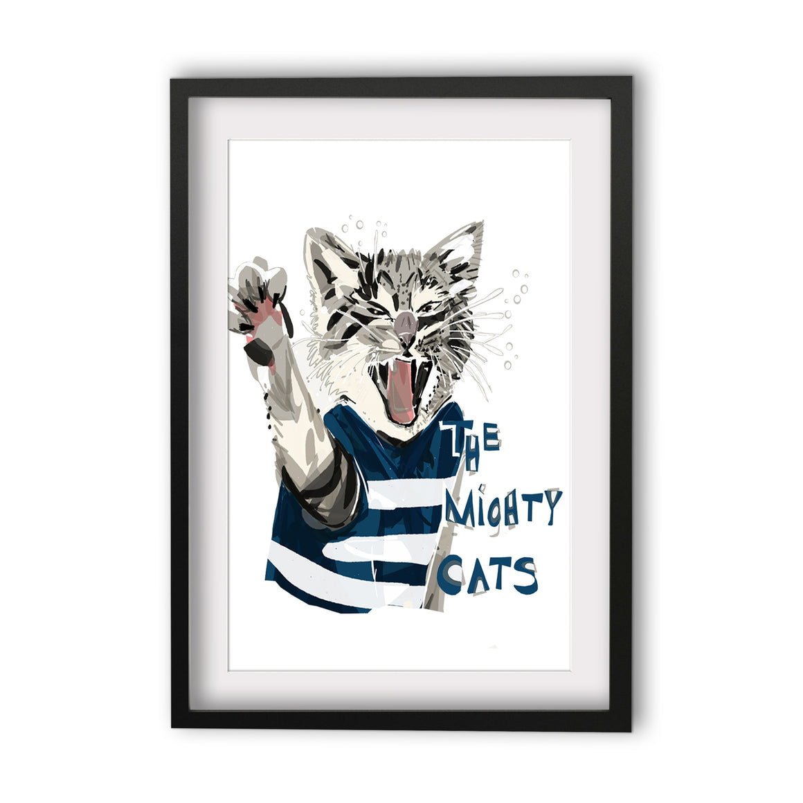 Print Football AFL - Cats