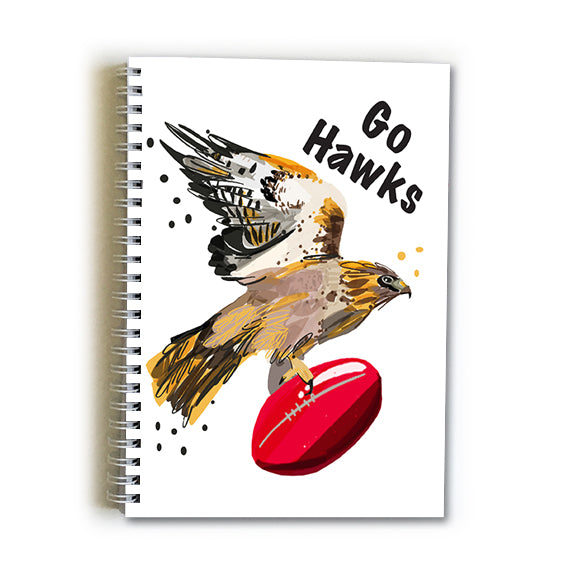 Note Book A5 - Football Hawthorn Hawks
