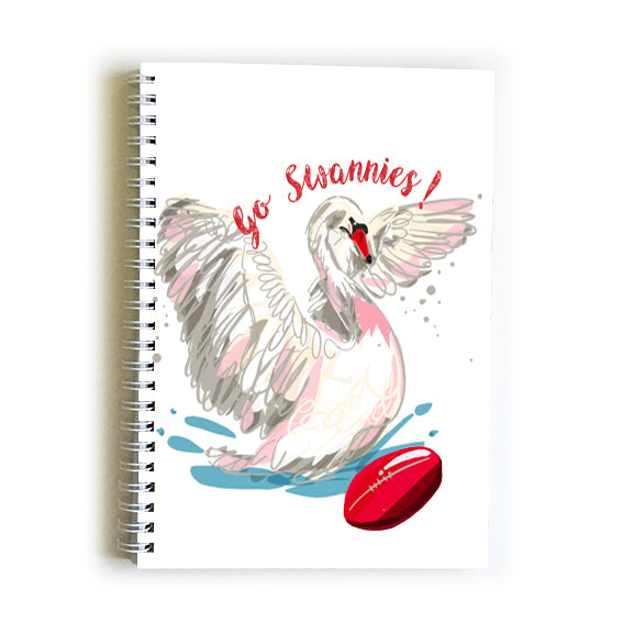 Note Book A5 - Football Sydney Swans
