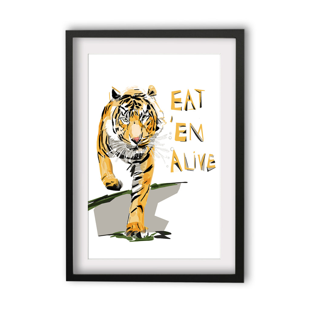 Print Football AFL - Tigers