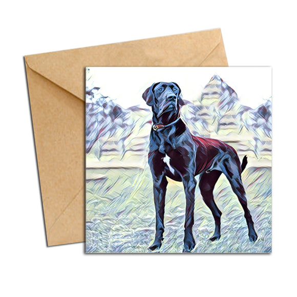 Card - Dog Great Dane