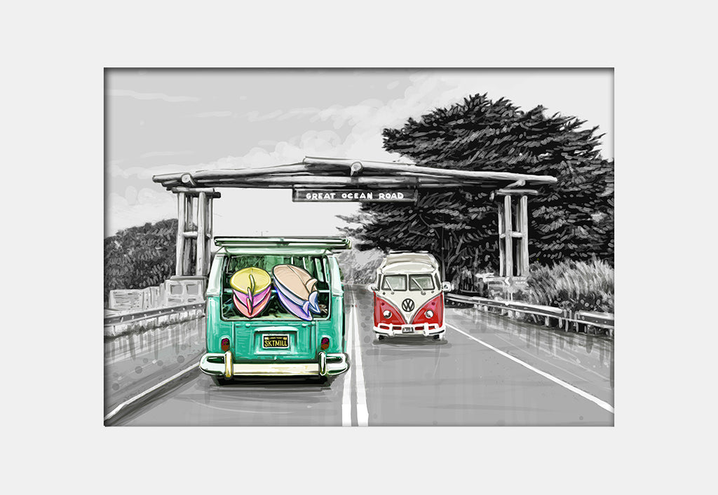 Print (Iconic) - Bellarine Great Ocean Road Portal (L)