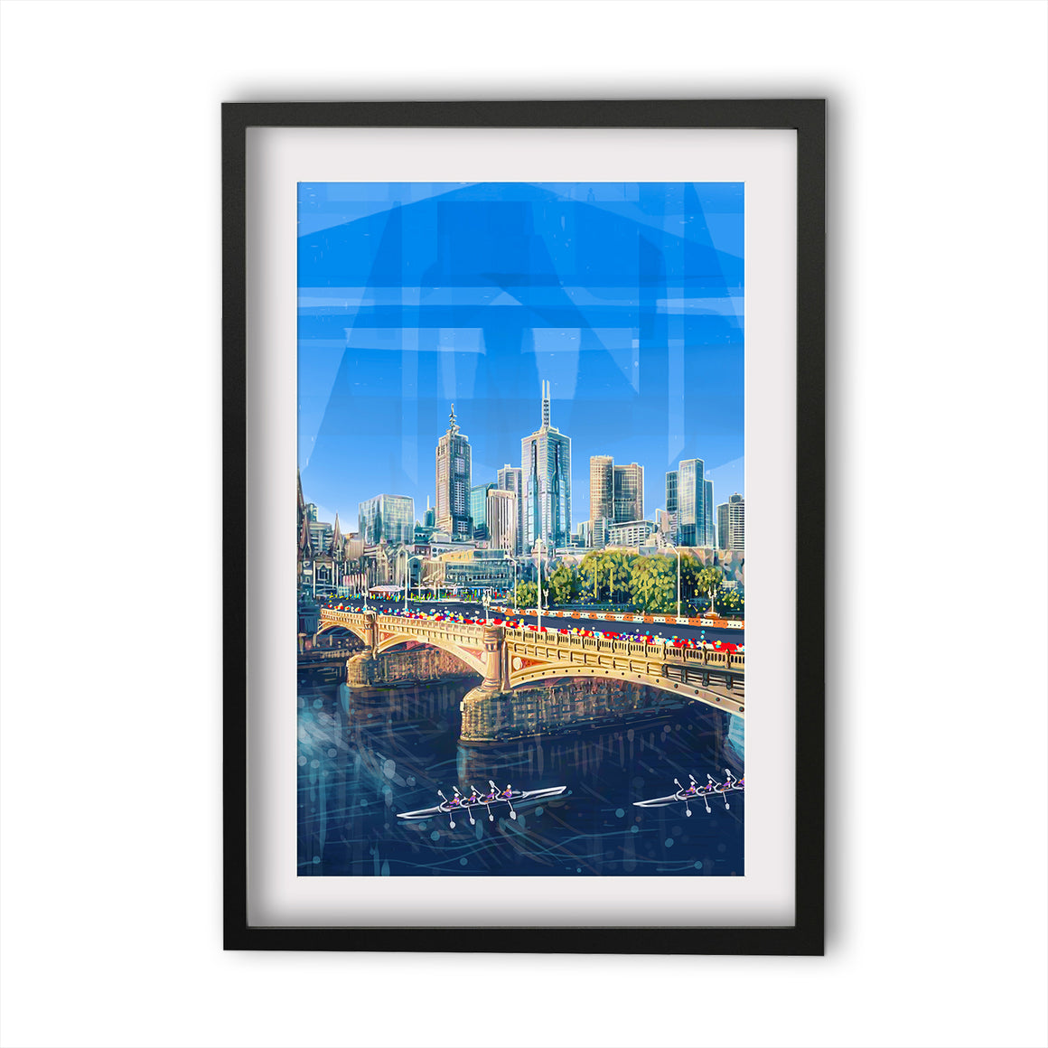 Print (Iconic) - Melbourne Princess Bridge