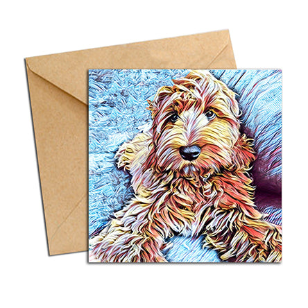 Card - Dog Labradoodle