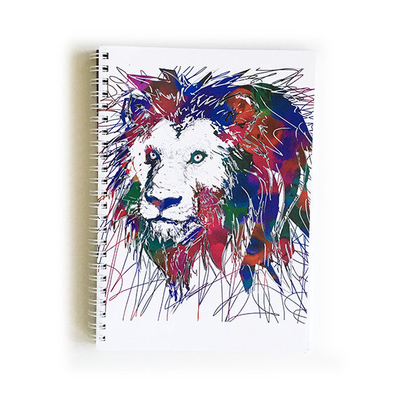 Note Book A5 - Lion