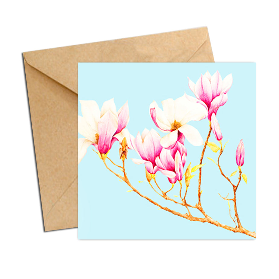Card - Botanical Magnolias
