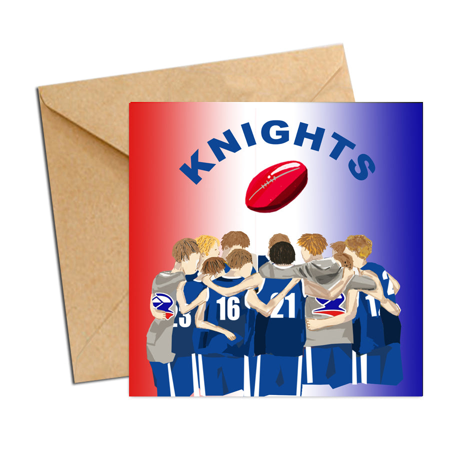 Card - AFL - Football Huddle Malvern Knights