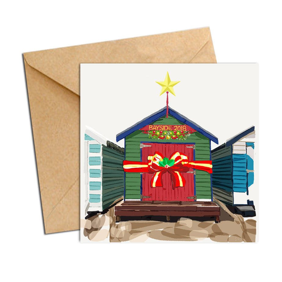 Card - Xmas Melb Brighton Box