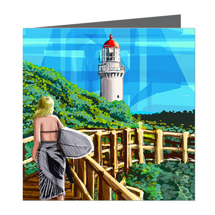 Card - Iconic Melbourne Mornington Cape Schanck Lighthouse