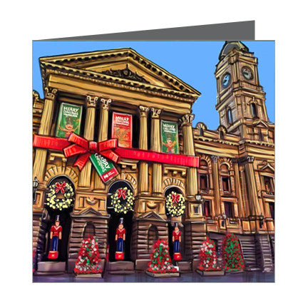 Card - Xmas Iconic Melbourne Town Hall