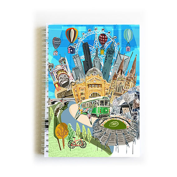 Note Book A5 - Iconic Melbourne Icons
