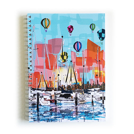 Note Book A5 - Iconic Melbourne Williamstown Marina
