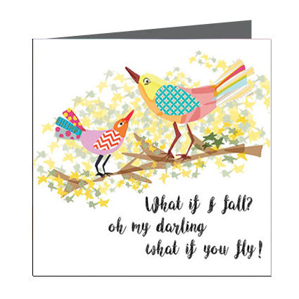Card - Quote - What if you fly
