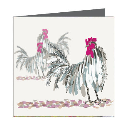 Card - Bird - Chickens
