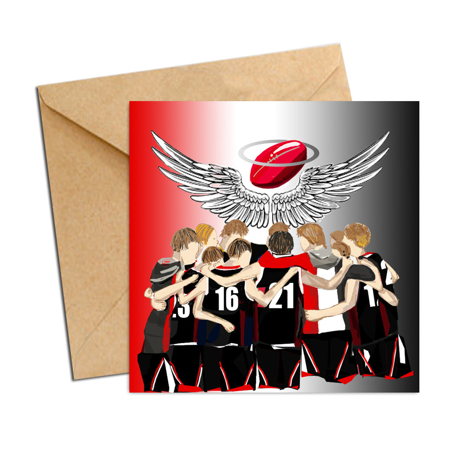 Card - AFL  - Football Saints