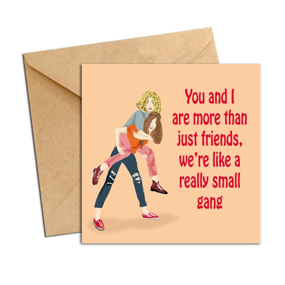 Card - friendship small gang