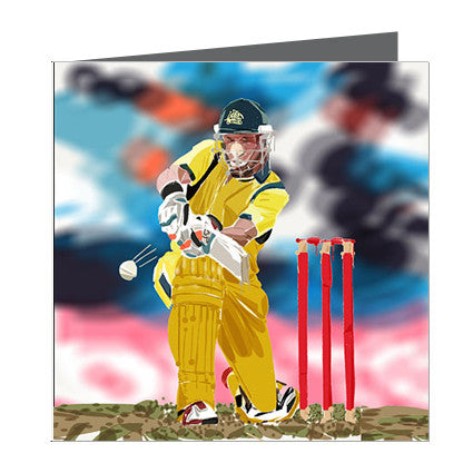 Card - Sports - Cricket - Batsman
