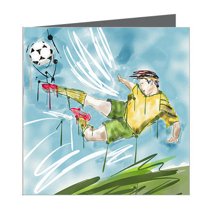 Card - Sports - Soccer Boy