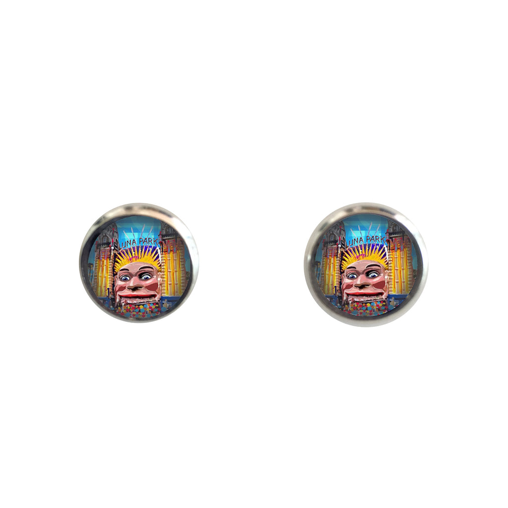 Earrings studs - Luna Park