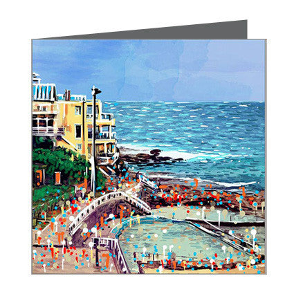 Card - Iconic Sydney - Bondi Sea Baths