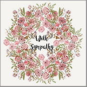 Small Cards (Pack of 10) - Sympathy Blooms Pint Ring