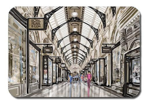 Postcard - Melbourne Royal Arcade