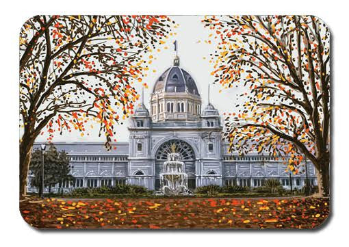 Postcard - Melbourne Royal Exhibition Building