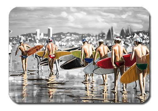 Postcard - Iconic Surfers