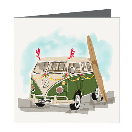 Card - Xmas Combi with Surf board