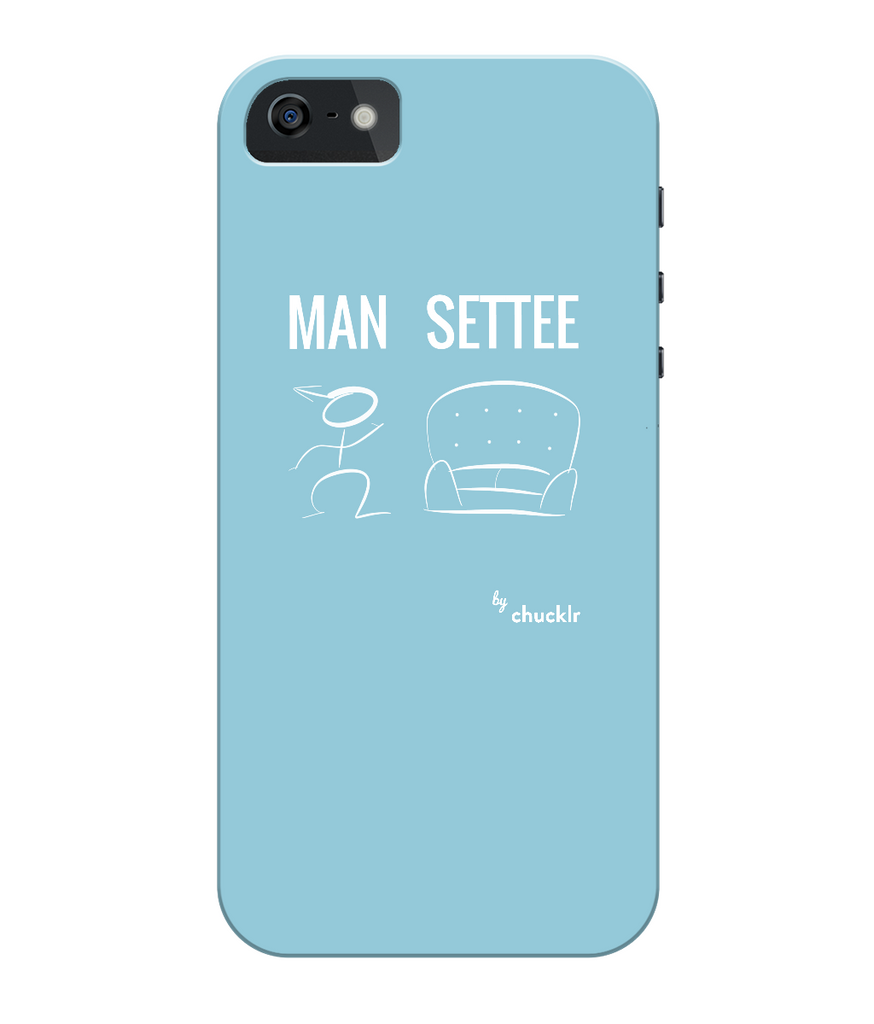 iPhone 5c Full Wrap Case Man City