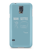 Samsung Galaxy S5 Full Wrap Case Man City