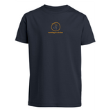 chucklr boys casual t-shirt - running in circles - navy