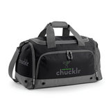 chucklr mens sports holdall full - raise the bar - black