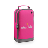 chucklr womens shoe / accessory bag - lightning quick - pink