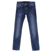 Boy's Diesel Dark Denim Jeans