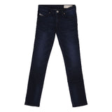 Girl's Diesel 5 Pocket Dark Blue Skinzee-Low-J-N Jeans