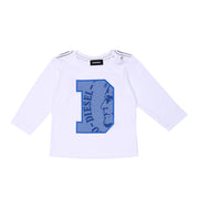Boy's Diesel D Long Sleeve White Top