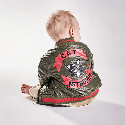 Boy's Diesel Jimmib Bomber Jacket