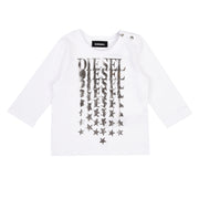Girl's Diesel White Tatib T-Shirt